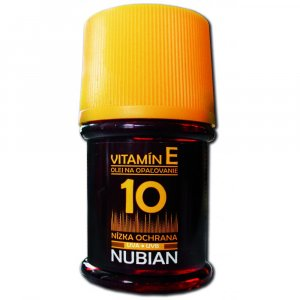 Nubian olej na opalovaní OF10 60 ml