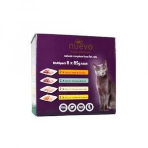 NUEVO kočka kapsa Adult Multipack 8x85 g