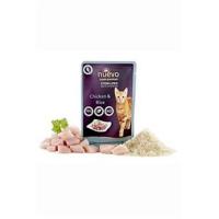 NUEVO drůbeží s rýží kapsa pro kastrované kočky 85 g