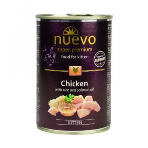 NUEVO kuře konzerva pro koťata 400 g