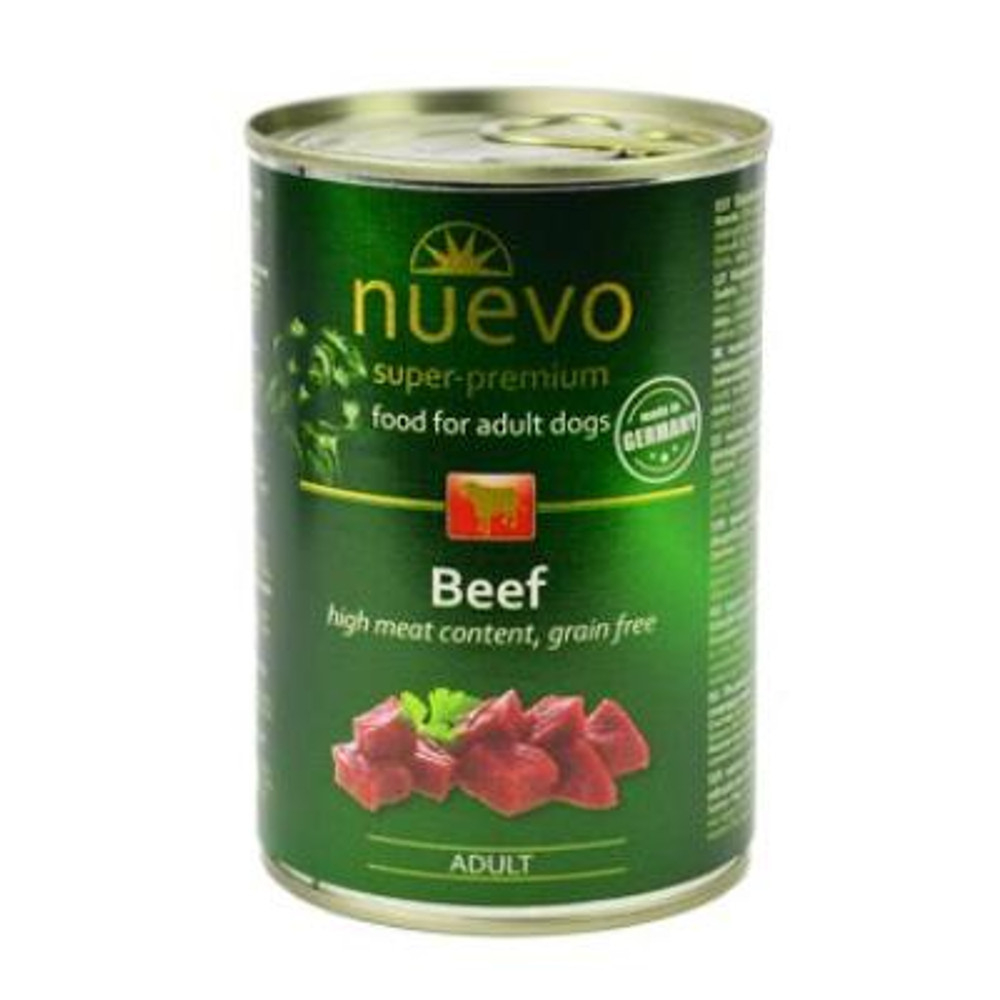 NUEVO Hovězí konzerva pro psy 400 g
