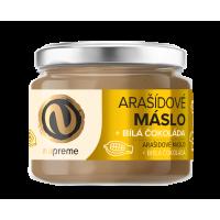 NUPREME Arašídové máslo s bílou čokoládou 220 g