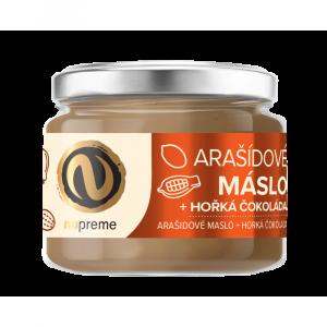 NUPREME Arašídové máslo s hořkou čokoládou 220 g