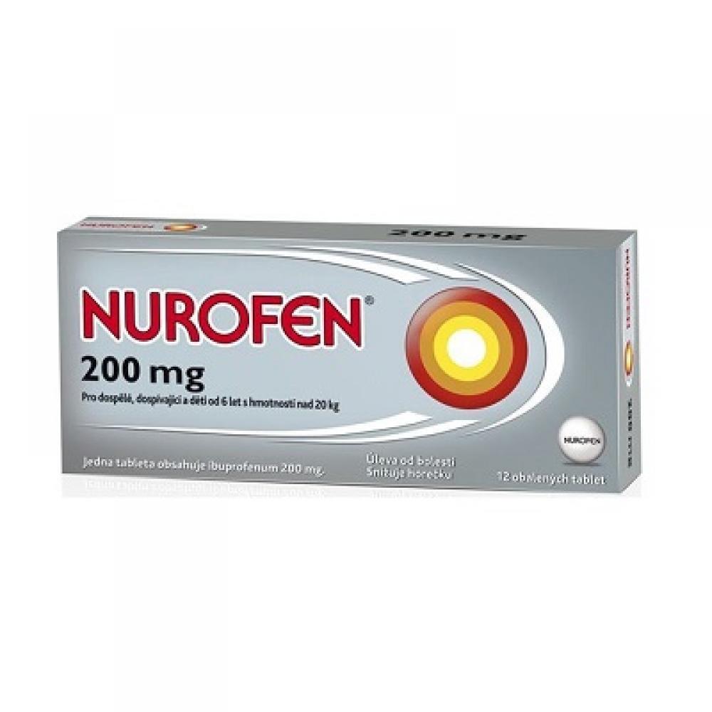 NUROFEN 200 mg 12 tablet - Lékárna.cz