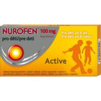 NUROFEN Active pro děti 100 mg 12 tablet