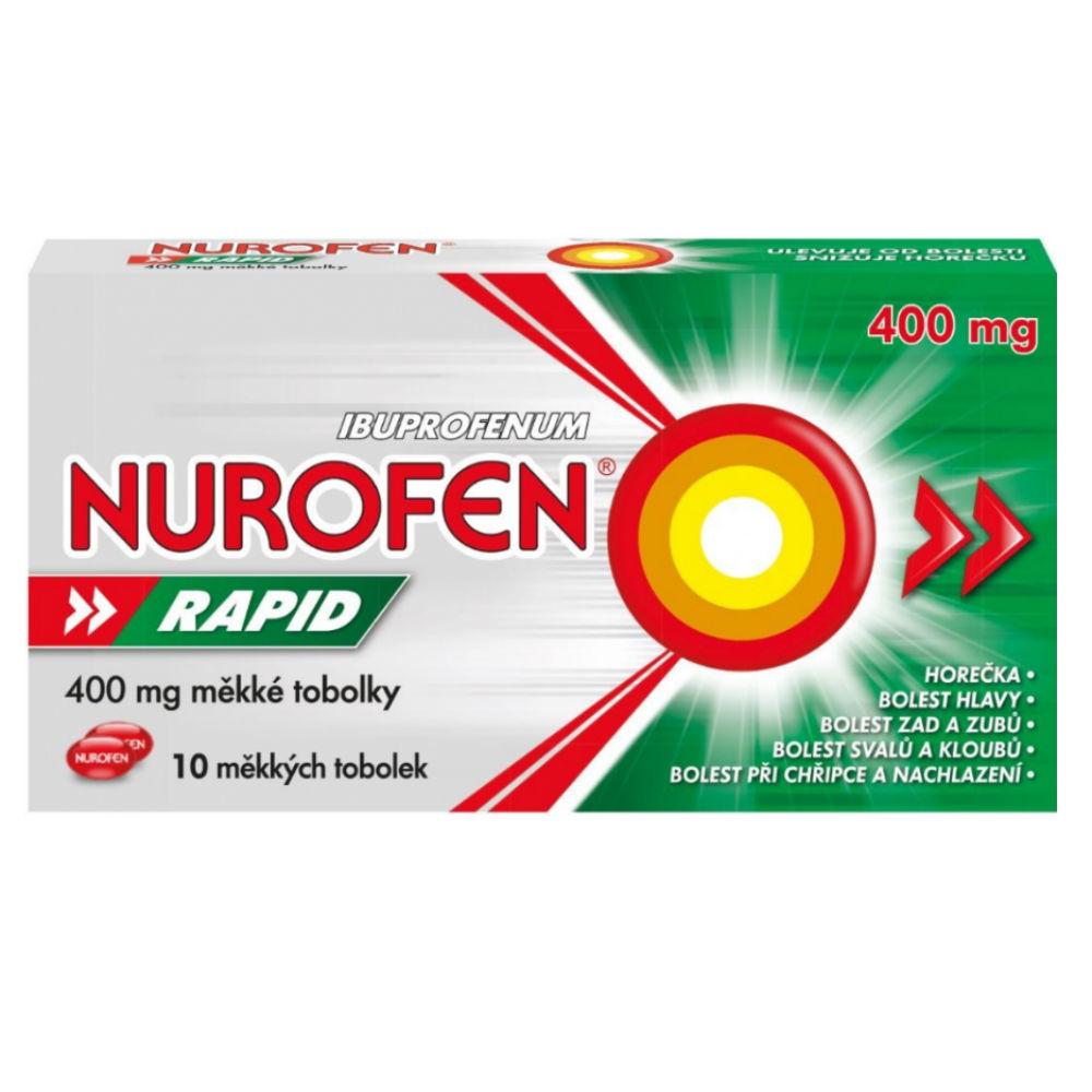 NUROFEN Rapid 400 mg 10 tobolek