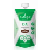 NUTREGO DIA Výživa čokoláda 12 x 200 ml, Příchuť: Čokoláda