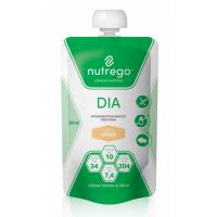 NUTREGO DIA Výživa 12x200 ml, Příchuť: Oříšek