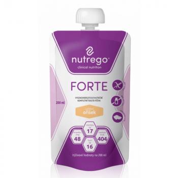 NUTREGO FORTE Výživa oříšek 12 x 200 ml