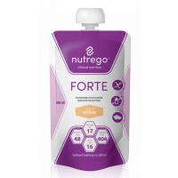 NUTREGO FORTE Výživa 12x200 ml, Příchuť: Oříšek