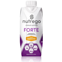 NUTREGO FORTE Výživa 12x330 ml, Příchuť: Cappuccino
