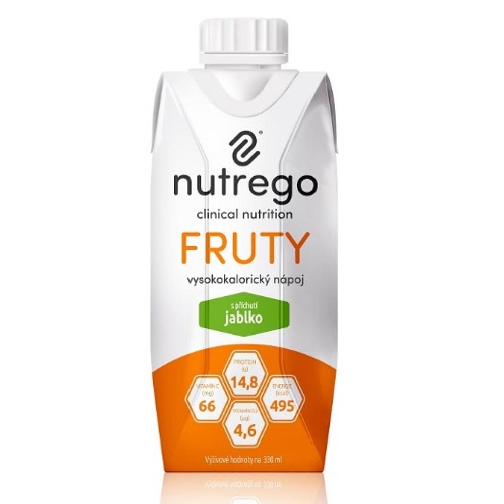 NUTREGO FRUTY Výživa 12 x 330 ml, Příchuť: Višeň