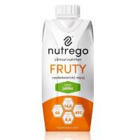 NUTREGO FRUTY Výživa jablko 12 x 330 ml