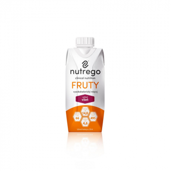 NUTREGO FRUTY Výživa višeň 12 x 330 ml