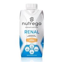 NUTREGO RENAL Výživa 12 x 330 ml, Příchuť: Oříšek