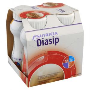 NUTRICIA Diasip s příchutí cappuccino 4 x 200 ml