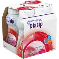NUTRICIA Diasip s příchutí jahodovou 4 x 200 ml