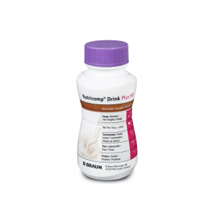 NUTRICOMP Drink Plus HP čokoláda-nugát  200 ml 4 kusy