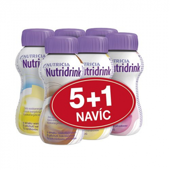 NUTRIDRINK Balíček různé příchutě 6 x 200 ml