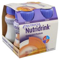 NUTRIDRINK Compact protein s příchutí broskve a manga 4 x 125 ml