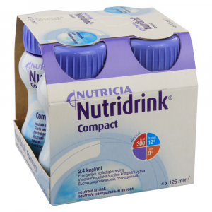 NUTRIDRINK Compact neutral 4 x 125ml