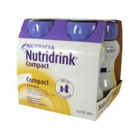 NUTRIDRINK Compact s příchutí banánovou 4 x 125ml