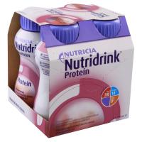 NUTRIDRINK Protein s příchutí lesního ovoce 4 x 200 ml
