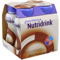 NUTRIDRINK Čokoládová příchutí 4 x 200 ml