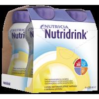 NUTRIDRINK S vanilkovou příchutí 4 x 200 ml