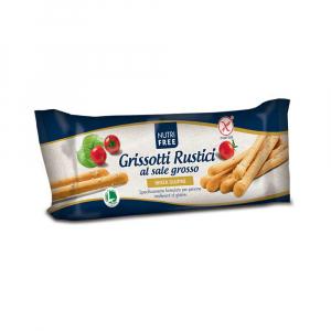 NUTRIFREE Celozrnné tyčinky S hrubou solí bez lepku 100 g