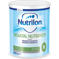 NUTRILON 0 Nenatal Nutriprem Počátení kojenecká výživa 400 g