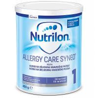 NUTRILON 1 Allergy Care Syneo por. plv. sol. Počáteční kojenecká výživa od narození 450 g