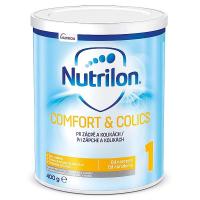 NUTRILON 1 Comfort & Colics Počáteční kojenecká výživa od narození 400 g