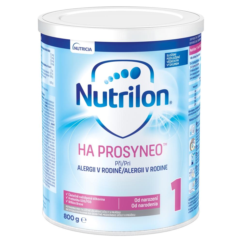 NUTRILON 1 HA Prosyneo Počáteční kojenecká výživa od narození 800 g