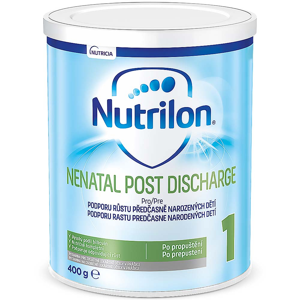 NUTRILON 1 Nenatal Post Discharge Počátení kojenecké mlék 400 g