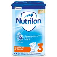 NUTRILON 3 Batolecí mléčná výživa 800 g