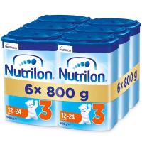 NUTRILON 3 Advanced Pokračovací batolecí mléko od 12-24 měsíců 6 x 800 g