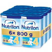 NUTRILON 4 Vanilla Pokračovací batolecí mléko od 24-36 měsíců 6x 800 g