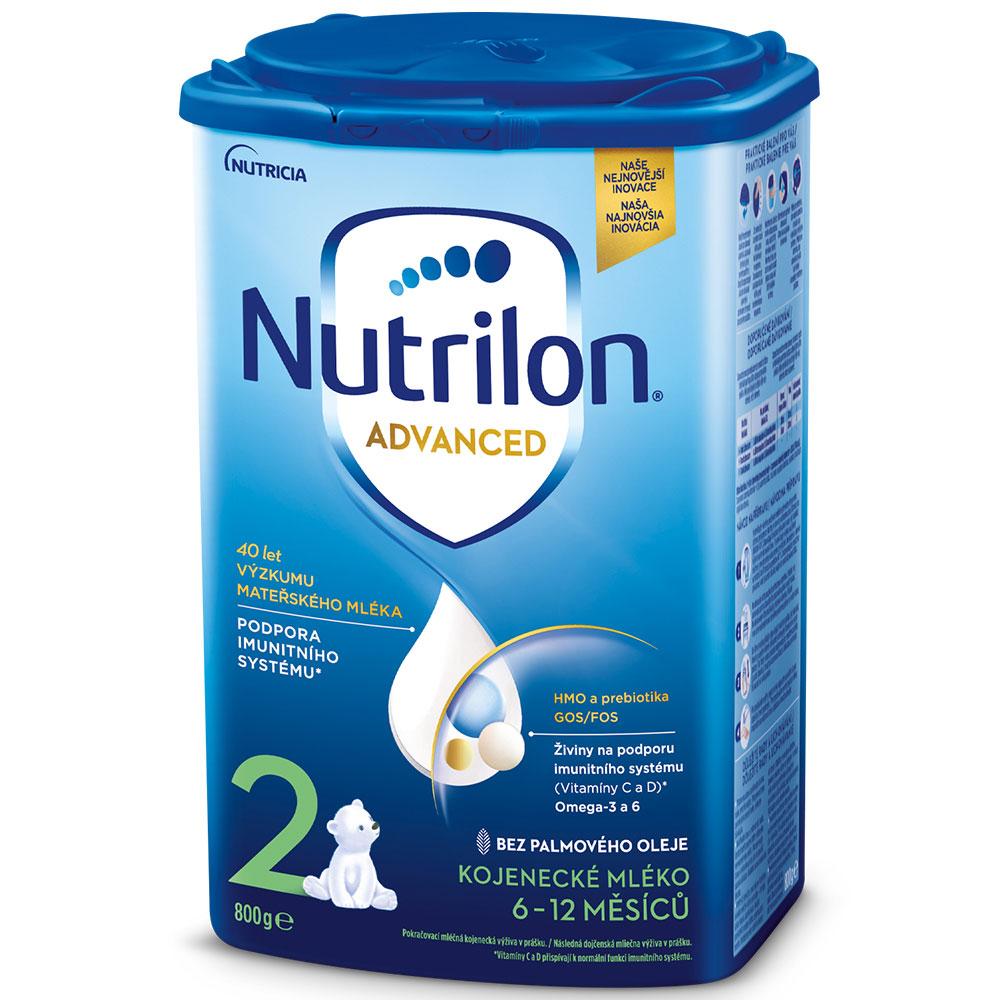 NUTRILON 2 Advanced Pokračovací kojenecké mléko od 6-12 měsíců 800 g