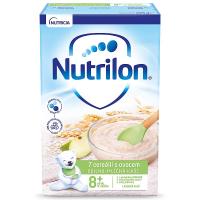 NUTRILON Obilno-mléčná kaše 7 cereálií s ovocem od 8.měsíce 225 g