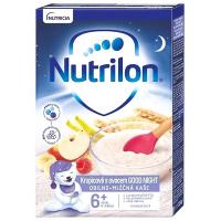 NUTRILON Good Night Obilno-mléčná kaše Krupicová s ovocem od 6.měsíce 225 g