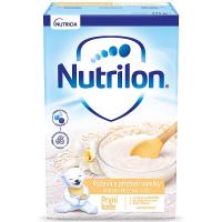 NUTRILON První obilno-mléčná kaše rýžová s příchutí vanilky 225 g