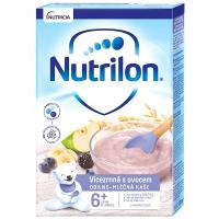 NUTRILON Obilno-mléčná kaše Vícezrnná s ovocem od 6.měsíce 225 g