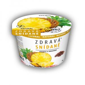 OBEZIN Zdravá snídaně Ananas a rozinky 78 g