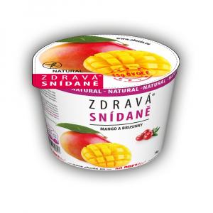 OBEZIN Zdravá snídaně Mango a brusinky 78 g