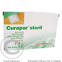 Náplast Curapor chirurgická sterilní 7x 5 cm/5 ks