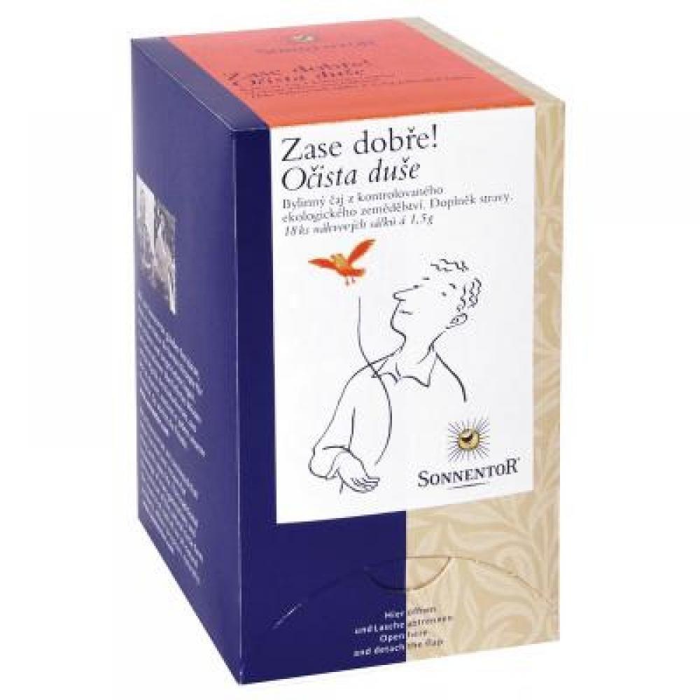 Očista duše - bio bylinný porc.čaj dvoukomorový 27g