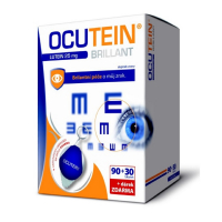 OCUTEIN Brillant Lutein DaVinci 25 mg 120 tobolek + Antistatický ubrousek na brýle ZDARMA