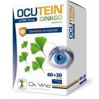 DA VINCI ACADEMIA OCUTEIN Ginkgo Lutein 15 mg 60+30 tobolek