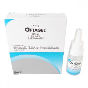 OFTAGEL 25 mg 3x 10 g